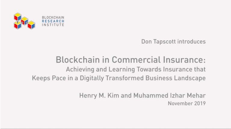 Blockchain in Commercial Insurance