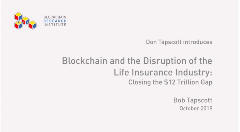 Blockchain Disruption of Insurance