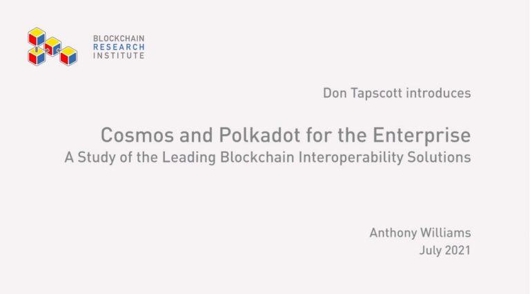 Cosmos and Polkadot for the Enterprise